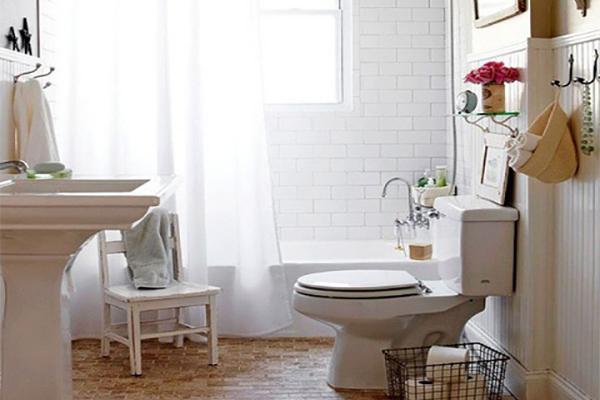 Organizar un ba o peque o - Estanteria encima wc ...