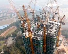 rascacielos de 59 pisos hecho 19 dias