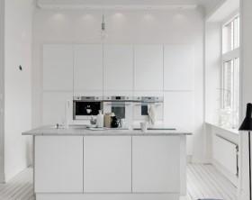 Estilo nórdico en cocinas elegancia absoluta : menos es más