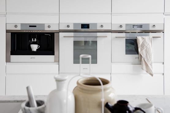 Estilo n rdico en cocinas elegancia absoluta menos es m s - Cocinas con electrodomesticos blancos ...