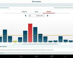 Consultar el consumo eléctrico desde el móvil